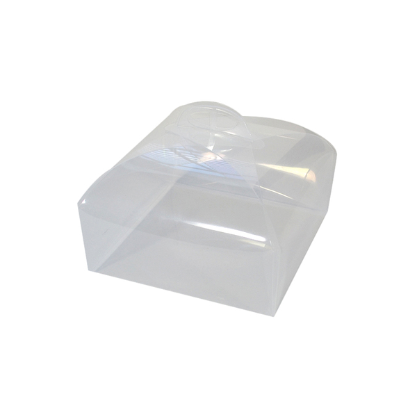 Small Cake & Hamper Box - Clear Transparent
