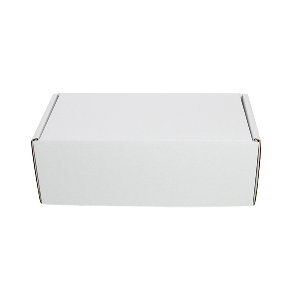 One Piece Postage Box 4101 - Kraft White