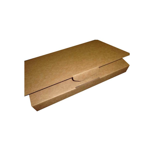 Book Mailer Small Brown (Brown Inside)