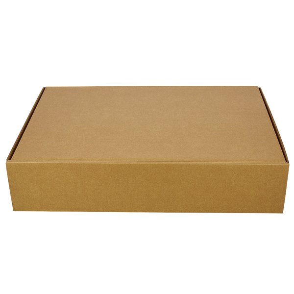 One Piece Postage Box 6417 - Kraft Brown