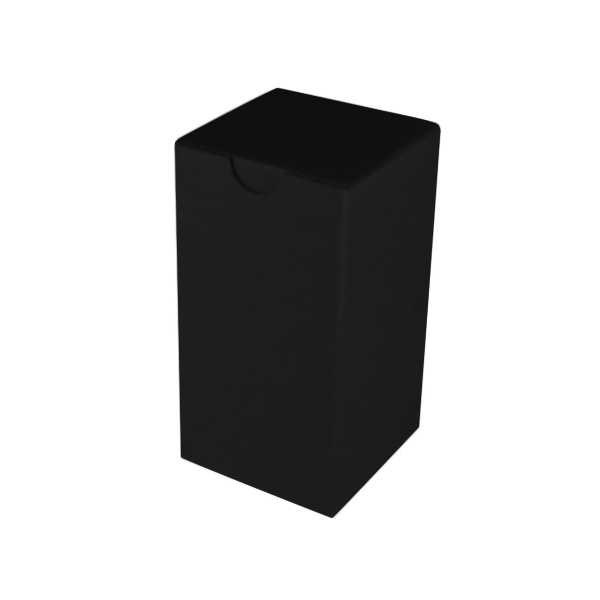 Candle Box 80/150 - Kraft Black (Double Sided Black)