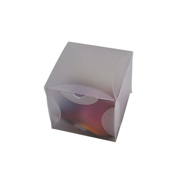 Transparent Gift Box - Small - Frosted Clear