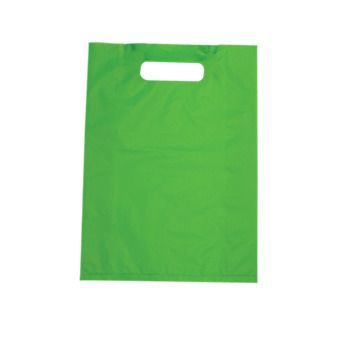 Carnival HD Plastic Bags Small - Lime Green 1000PK
