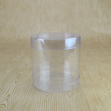 Clear Cylinder 100D Medium - 100 x 100 x 100mm