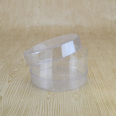 Clear Cylinder 100D Short - 100 x 100 x 50mm