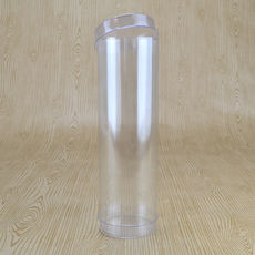 Clear 51mm Cylinder Box 165mm High (Suitable for 5-6 Macaroons) - 51 x 51 x 165mm