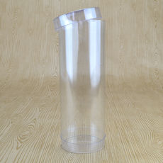 Clear Macaron Box 60mm Cylinder 165mm High (Suitable for 5-6 Macaroons) - 60 x 60 x 165mm