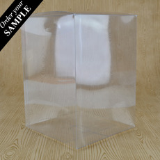 SAMPLE - Clear Folding Box 140 x 140 x 195mm (No. #21)