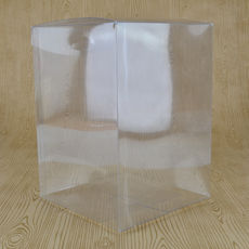 Clear Folding Box 140 x 140 x 195mm (No. #21)
