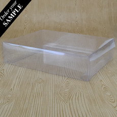 SAMPLE - Clear Folding Box 215 x 165 x 50mm (No.  #38)