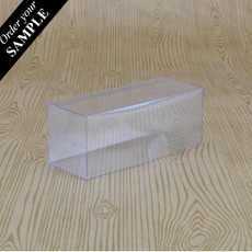 SAMPLE Clear Folding Box (No. #13) 25 x 25 x 80mm