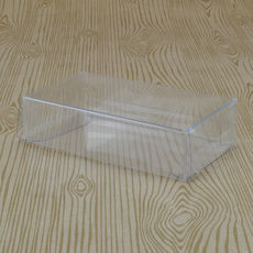 Clear Folding Box 60 x 28 x 110mm (No. #10)
