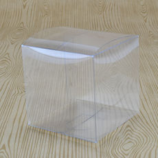 Clear Folding Box (No. #3) 70mm Cube