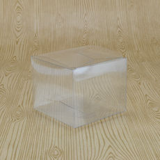 SAMPLE - Clear Folding Box #27