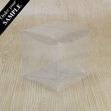 SAMPLE - Clear Folding Box (No. #4) 80 x 80 x 80mm