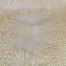 Clear Folding Box 80 x 80 x 80mm (No. #4)