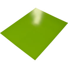 Lime Poster Board Double Sided - 510 x 640mm (400gsm) (10 Sheets per Pack)