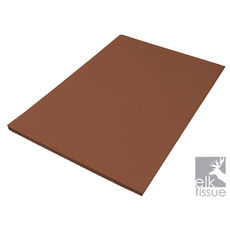 Chocolate Brown Tissue Paper - Acid Free 500 x 750mm (Bulk 480 Sheets)