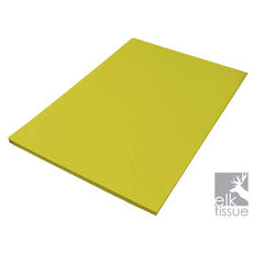 Light Yellow Tissue Paper - Acid Free 500 x 750mm (Bulk 480 Sheets)