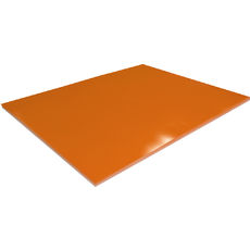 Orange Surface Board Double Sided - 510 x 640mm (300gsm) (10 Sheets per Pack)