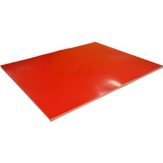 Red Surface Board Double Sided - 510 x 640mm (300gsm) (10 Sheets per Pack)