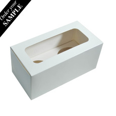 SAMPLE - 2 Cupcake Box with removable insert