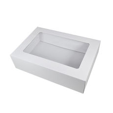 Gourmet Display Small Base & Lid - Gloss White  - DESIGN CHANGE