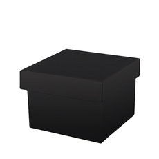 TEMP OUT OF STOCK MID NOVEMBER- Large Gift Box - Budget Black Gloss