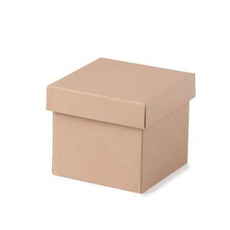 TEMP OUT OF STOCK UNTIL 2018 -Mini Gift Box Base & Lid - Kraft Brown