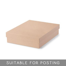 Large Shirt Box - Kraft Brown