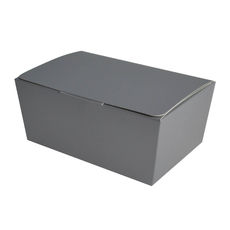 NOW $1.03ea- 100 x Sweets Box Large - Matt Silver