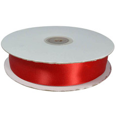 Satin Ribbon (23mm x 90metres) - Red Gift Wrapping & Decoration