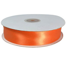 Satin Ribbon (22mm x 45metres) Orange