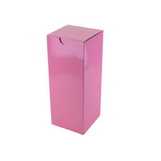 Candle Box 120/170mm - Premium Matt Baby Pink (White Inside)