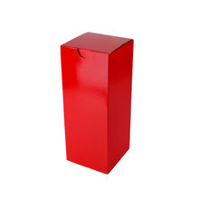 Candle Box 120/170mm - Premium Gloss Red (White Inside)