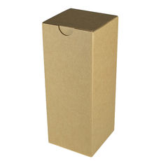 Candle Box 120/220mm - Brown Cardboard (Brown Inside)