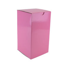 Candle Box 120/220mm - Premium Gloss Baby Pink (White Inside)