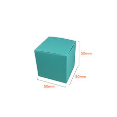 One Piece Cube Box 50mm - Matt Blue