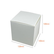 One Piece Cube Box 120mm - Paperboard (285gsm)