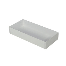 Rectangle 10 Gift Box with Clear Lid - Paperboard