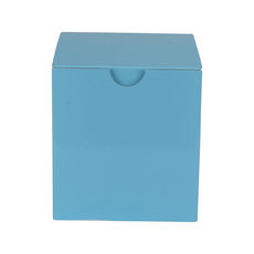 One Piece Postage, Candle & Gift Box 15012 with removable insert - Premium Matt Baby Blue (White Inside)