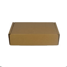 One Piece Postage & Gift Box 15075 - Kraft Brown (Brown Inside)