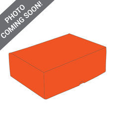 One Piece Postage Box 15151 - Premium Gloss Orange (White Inside)