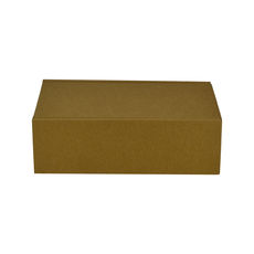 One Piece Postage & Gift Box 15186 - Kraft Brown (Brown Inside)