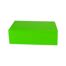 One Piece Postage & Gift Box 15186 - Premium Gloss Lime Green (White Inside)