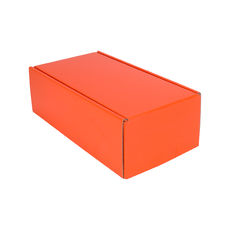 One Piece Postage Box 15187 - Premium Gloss Orange