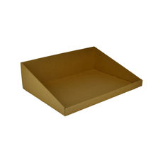 A3 Counter Display Box 15282 - Kraft Brown (Brown Inside)