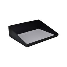 A3 Counter Display Box 15282 - Premium Matt Black (White Inside)