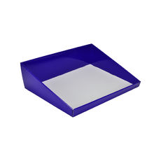 A3 Counter Display Box 15282 - Premium Gloss Purple (White Inside)
