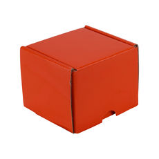 One Piece Postage Box 15285 - Premium Gloss Orange